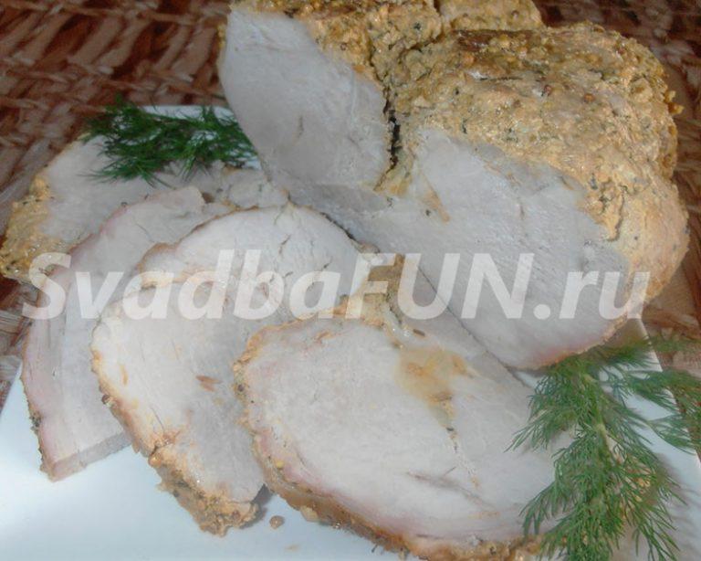 Буженина «Мясное удовольствие» — блюда на свадьбу
