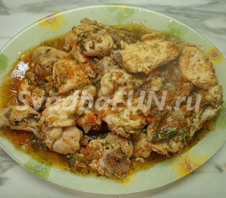 Оригинальное горячее — рецепт чахохбили