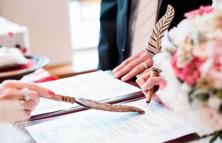 Госпошлина на заключение брака в 2019 году
