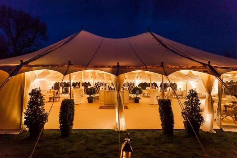 Как устроить свадьбу в шатре, важные моменты