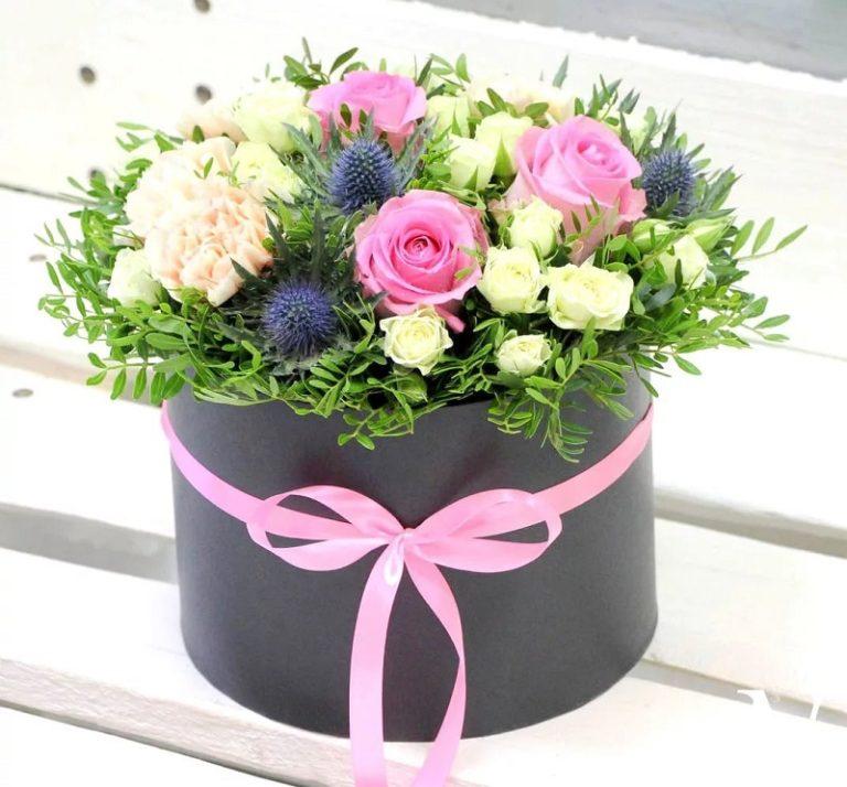 Волшебство в шляпной коробке: живописный Flower Box
