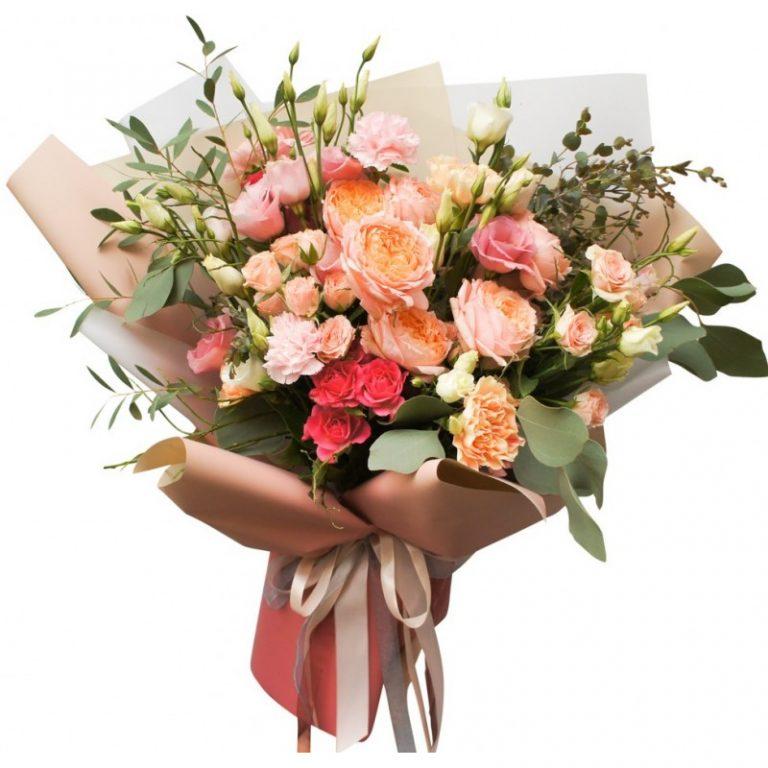 Чем удобна покупка цветов с доставкой